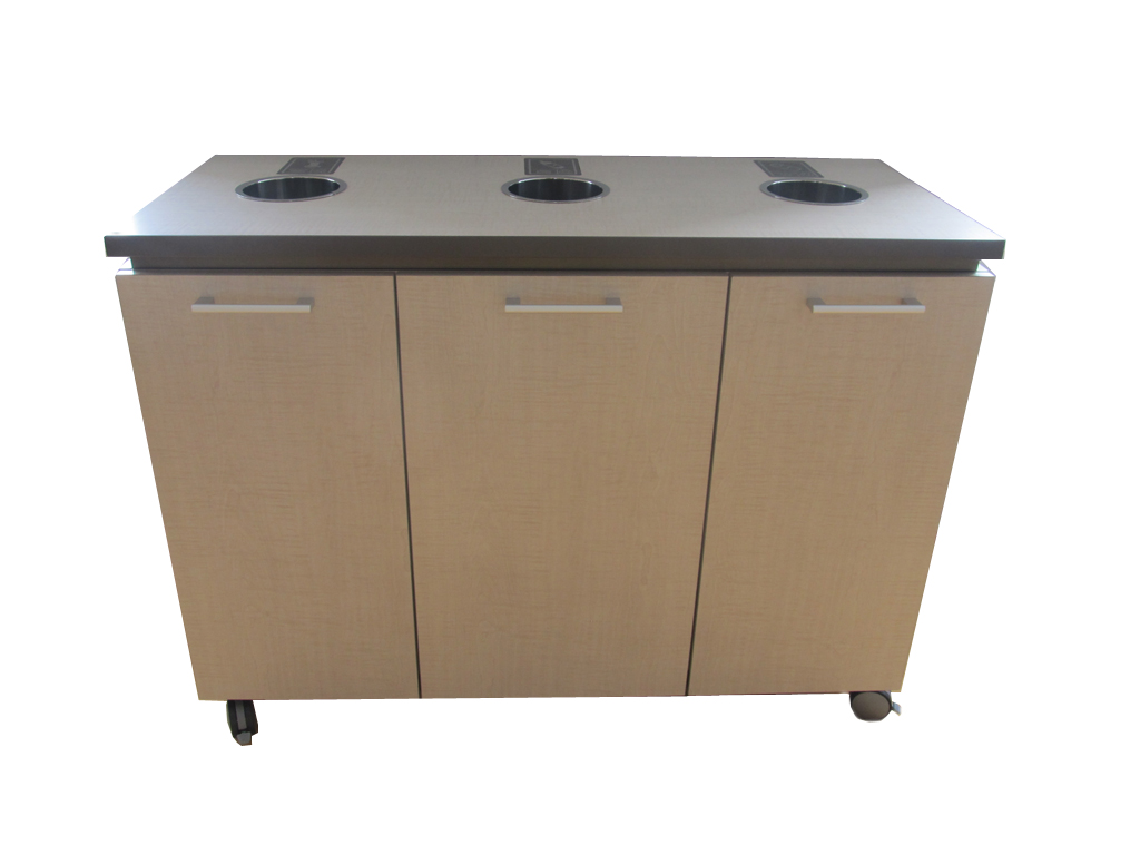 Entourage Recycling Cabinet